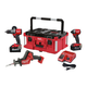 Milwaukee 2997-23PO M18 FUEL Hammer Drill/Impact Driver/Hackzall PACKOUT Kit