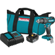 Makita XPH131 18V 3.0 Ah LXT Lithium-Ion Compact Brushless Cordless 1/2 in. Hammer Driver-Drill Kit
