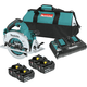 Makita XSH06PT1 18V X2 LXT Lithium-Ion (36V) Brushless Cordless 7-1/4 in. Circular Saw Kit with 4 Batteries (5.0Ah)