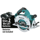 Makita XSH07ZU 18V X2 LXT Lithium-Ion (36V) Brushless Cordless 7-1/4 in. Circular Saw (AWS Capable) (Tool Only)