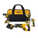 Factory Reconditioned Dewalt DCK484D2R 20V MAX XR 4-Tool Compact Combo Kit