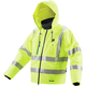 Makita DCJ206ZM 18V LXT Lithium-Ion Cordless High Visibility Heated Jacket (Jacket Only) - Medium