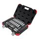 Sunex 3842 42 Pc 3/8 in. Drive Chrome Socket Set