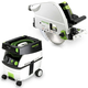 Festool PD561438 Plunge Cut Circular Saw with CT MIDI 3.3 Gallon Mobile Dust Extractor