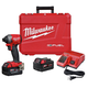 Factory Reconditioned Milwaukee 2853-82 M18 FUEL 1/4 in. Hex Impact Driver XC Kit
