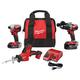 Milwaukee 2893-22CXP M18 Brushless Hammer Drill Driver & Impact Driver Hackzall Kit