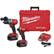 Factory Reconditioned Milwaukee 2997-82 M18 FUEL 2-Tool Hammer Drill/Impact Driver Combo Kit