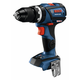 Bosch GSB18V-535CN 18V Lithium-Ion Brushless Connected-Ready Compact Tough 1/2 in. Cordless Hammer Drill Driver (Tool Only)