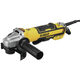 Dewalt DWE43214NVS 5 in. Brushless No-Lock Variable Speed Paddle Switch Small Angle Grinder with Kickback Brake