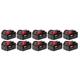 Milwaukee 48-11-1851 M18 REDLITHIUM XC 5 Ah Lithium-Ion Battery (10-Pack)