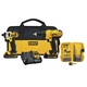 Factory Reconditioned Dewalt DCK241C2R 20V MAX Li-Ion Compact 2-Tool and Accessory Kit