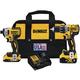 Factory Reconditioned Dewalt DCK287D1M1R 20V MAX XR Hammer Drill/Driver & Impact Driver Combo Kit