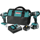 Makita XT269T 18V LXT Lithium-Ion 5.0 Ah Brushless 2-Piece Combo Kit