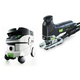 Festool P26561443 Trion Barrel Grip Jigsaw with CT 26 E 6.9 Gallon HEPA Mobile Dust Extractor