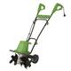Martha Stewart MTS-TJ16E 16 in. 13.5 Amp Electric 6-Tine 3-Position Garden Tiller/Cultivator