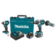 Factory Reconditioned Makita XT268M-R 18V 4.0 Ah LXT Cordless Lithium-Ion Hammer Drill and Impact Driver Combo Kit