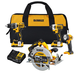 Factory Reconditioned Dewalt DCK483D2R 20V MAX XR Compact 4-Tool Combo Kit