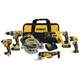 Factory Reconditioned Dewalt DCK694P2R 20V MAX XR 5.0 Ah Cordless Lithium-Ion 6-Tool Combo Kit