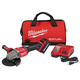 Milwaukee 2981-21 M18 FUEL 4-1/2 in. - 6 in. Braking Grinder Kit with Lock-On Slide Switch & (1) 6 Ah Li-Ion Battery