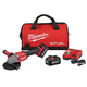 Milwaukee 2981-22 M18 FUEL 4-1/2 in. - 6 in. Braking Grinder Kit with Lock-On Slide Switch & (2) 6 Ah Li-Ion Batteries