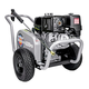 Simpson 60205 WaterBlaster 4200 PSI 4.0 GPM Belt Drive Professional Gas Pressure Washer with AAA Triplex Pump