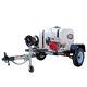 Simpson 95000 Trailer 3200 PSI 2.8 GPM Cold Water Mobile Washing System Powered by HONDA