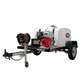 Simpson 95002 Trailer 4200 PSI 4.0 GPM Cold Water Mobile Washing System Powered by HONDA