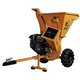 Detail K2 OPC503 3 in. 7 HP Cyclonic Chipper Shredder with KOHLER CH270 Command PRO Commercial Gas Engine