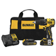 Dewalt DCD709C2 ATOMIC 20V MAX Lithium-Ion Brushless Compact 1/2 in. Cordless Hammer Drill Kit