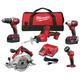 Milwaukee 2695-25P M18 5-Tool Combo Kit (3 Ah)