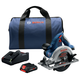 Bosch CCS180-B15 18V 6-1/2 in. Circular Saw Kit with (1) CORE18V 4.0 Ah Lithium-Ion Compact Battery