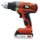Factory Reconditioned Black & Decker SSL20SBR 20V MAX Cordless Lithium-Ion Drill Driver with Smart Select