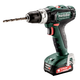 Metabo 601076520 12V PowerMaxx SB 12 Lithium-Ion Brushless Compact 3/8 in. Cordless Hammer Drill Driver Kit (2 Ah)