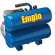 Emglo E810-4V 1.1 HP 4 Gallon Oil-Lube Twin Stack Air Compressor