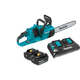 Factory Reconditioned Makita XCU03PT-R 18V X2 LXT 5.0 Ah Brushless 14 in. Chainsaw Kit