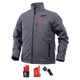 Milwaukee 202G-21S M12 Heated TOUGHSHELL Jacket Kit - Gray, Small