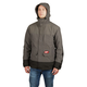 Milwaukee 203RN-21XL M12 3-in-1 Heated AXIS Jacket Kit with Rainshell - Gray, XL