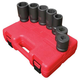 Sunex 5697M 7-Piece 1 in. Drive Metric Deep Impact Socket Set