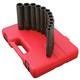 Sunex 2852 9-Piece 1/2 in. Drive Extra Deep Impact Socket Set