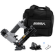 NuMax SFBC940 Pneumatic 4-in-1 18 Gauge 1-9/16 in. Mini Flooring Nailer and Stapler with Canvas Bag