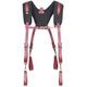 CLC 21522 Fully-Adjustable Padded Yoke Leather Suspenders