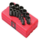 Sunex 3674 12-Piece 3/8 in. 12-Point SAE Impact Socket Set