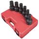Sunex 5606 6-Piece 1 in. SAE Hex Driver Socket Set