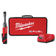 Milwaukee 2559-21 M12 FUEL Cordless Lithium-Ion 1/4 in. 2.0 Ah Extended Reach Ratchet Kit