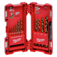 Milwaukee 48-89-2331 15-Piece RED HELIX Cobalt Drill Bit Set