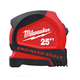 Milwaukee 48-22-6625E 25 ft. Compact Tape Measure with Engineer Scale