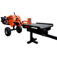 Detail K2 OPS240 40 Ton Kinetic Ultimate Speed 1 Sec. Log Splitter with 7HP KOHLER CH240 Command PRO Engine