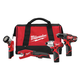 Milwaukee 2499-24 M12 12V Cordless Lithium-Ion 4-Tool Combo Kit