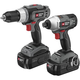 Porter-Cable PC218IDC-2 18V Cordless 1/2 in. Drill Driver and Impact Driver Combo Kit