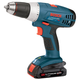 Factory Reconditioned Bosch 36618-02-RT 18V Cordless Lithium-Ion VSR Compact Tough Drill Kit